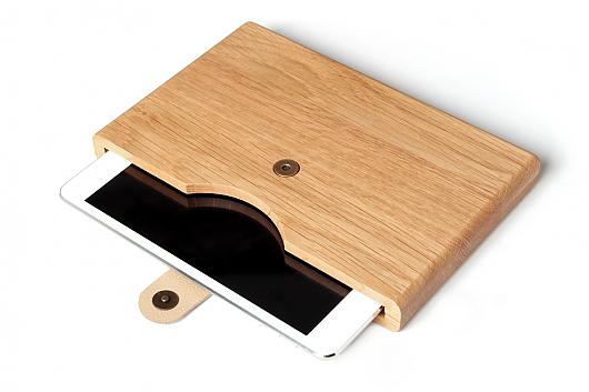 wooden ipad covers